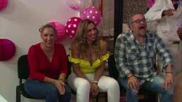 ¿Quién hizo reír a La Wanders en su baby shower?