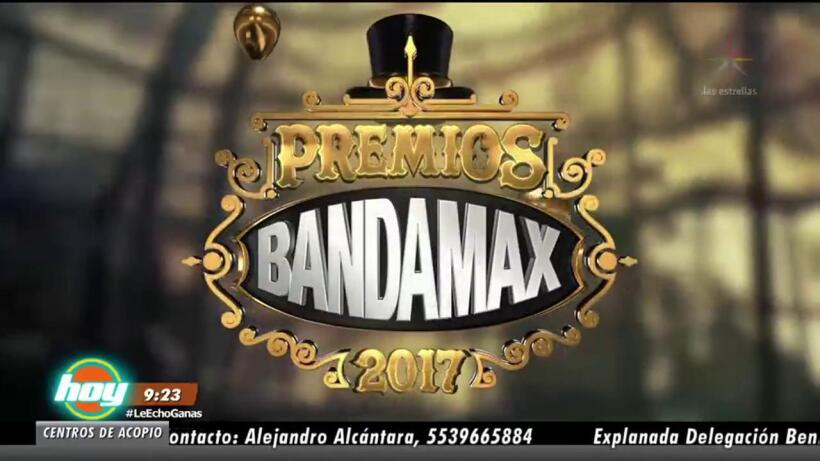 ¡Premios Bandamax 2017!