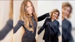Itatí Cantoral y Thalía hacen un dueto en divertido video