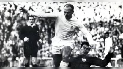 Alfredo Di Stéfano, la leyenda del Real Madrid que triunfó en el cine | El goleador argentino que probó las mieles del éxito en el Bernabéu y la pantalla grande.