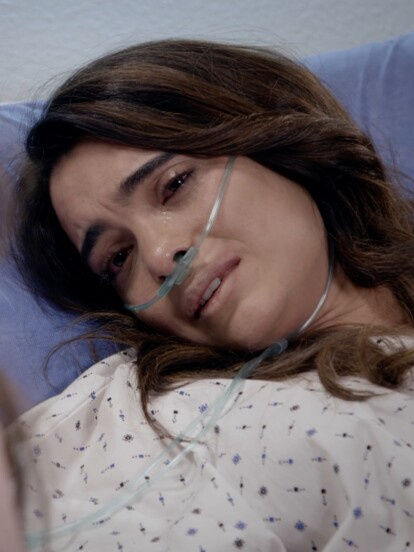 """En el último capítulo de """"Quererlo Todo"""", 'Sandy' se arrepintió de todo lo que hizo y pidió perdón a aquellos que dañó, como fue su hermana 'Bere'."""