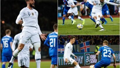 Francia derrota como visitante a Islandia, pero sigue en el segundo lugar del grupo H detrás de Turquía. Bastará un punto para asegurar su presencia en la Euro 2020.