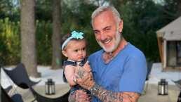 Gianluca Vacchi enternece al mostrar los primeros pasitos de su bebita