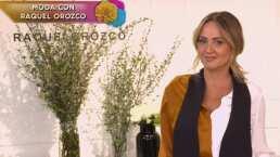 Andrea Legarreta modela la colección de ropa inspirada en el personaje de 'Annie Hall'