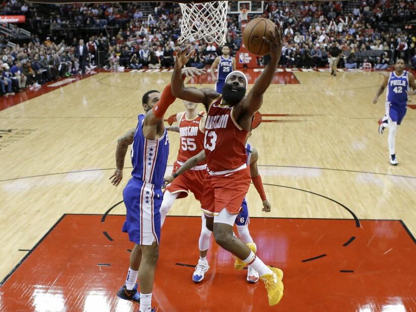 76ers Rockets Basketball