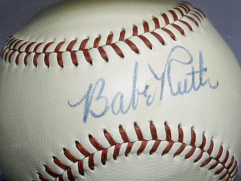 Babe Ruth Auction