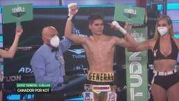Resumen | 'El General' Cuellar sumó su KO 11 a costa del 'Ratón' Robles