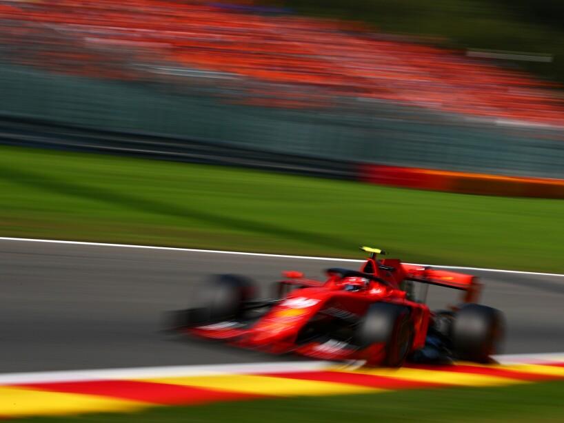 F1 Grand Prix of Belgium - Qualifying