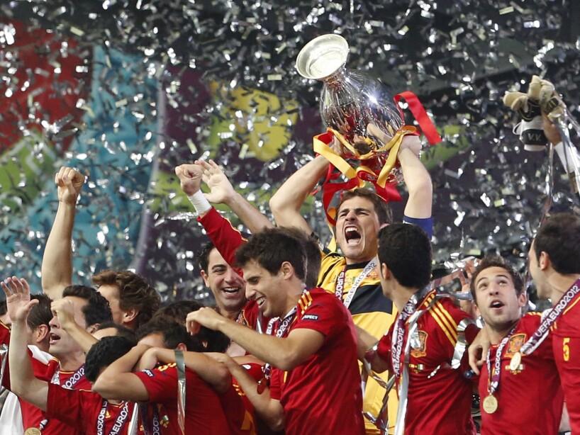 APTOPIX Soccer Euro 2012 Final Spain Italy