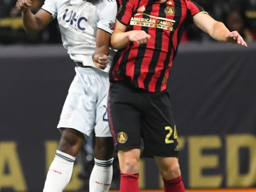 MLS Revoultion Atlanta United Soccer
