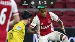 Edson Alvarez jugó con el Ajax que sigue de líder en Holanda