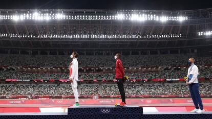 Tamberi y Barshim protagonizaron el podio más esperado