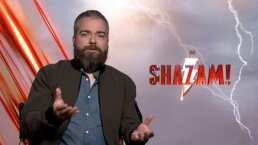 El director de ¡Shazam! nos platica de cómo se desarrolló el proyecto.