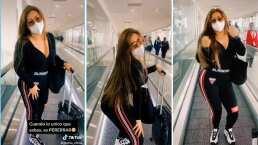 """Gomita protagoniza intrépido twerking en pleno aeropuerto: """"Cuando lo único que sabes es perrear"""""""