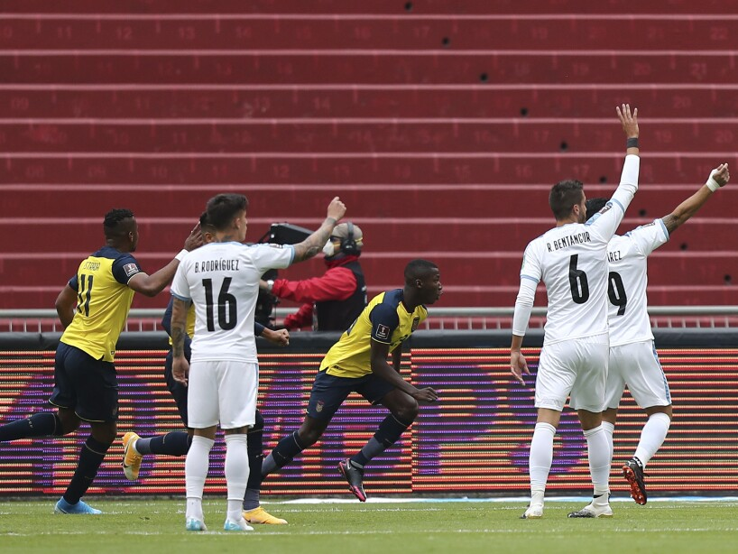 Ecuador Uruguay WCup Soccer