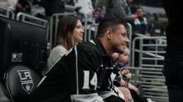 Chicharito, estrella invitada en la NHL con LA Kings
