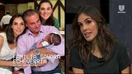 Sandra Echeverría estaba dispuesta a prestarle su vientre a su hermana para que fuera mamá