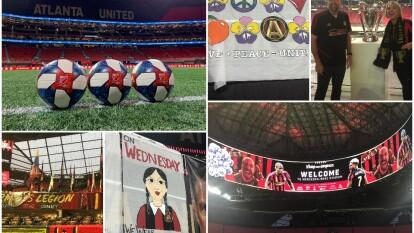 Gran ambiente en Atlanta para recibir la final de la Conferencia Este de la MLS.