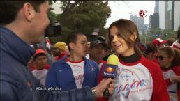 Marisol González orgullosa de apadrinar la 4ª Carrera Kardias