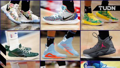 La NBA cambió la regla de usar tenis de color estrictamente apegados a los uniformes, ahora los jugadores tienen oportunidad de mostrar su personalidad con los tenis que usan.