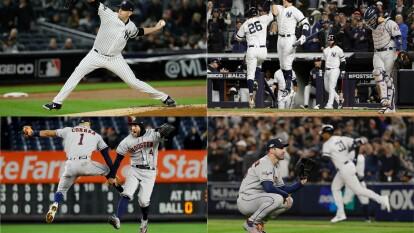 Los Yankees aprietan en casa y se ponen 2-3 en la serie frente a los Astros.