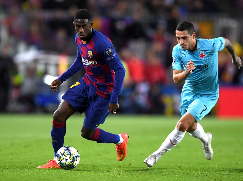 FC Barcelona v Slavia Praha: Group F - UEFA Champions League