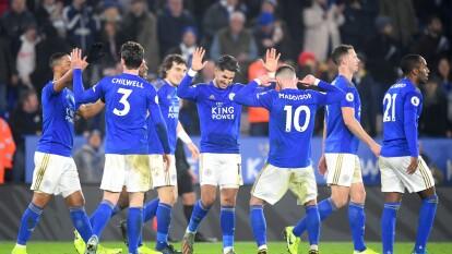Leicester City 4-1 West Ham - Los dirigidos por Rodgers llegan a 48 puntos y conservan zona de Champions League, mientras que los de David Moyes se quedan con 23 en los últimos lugares de la tabla.