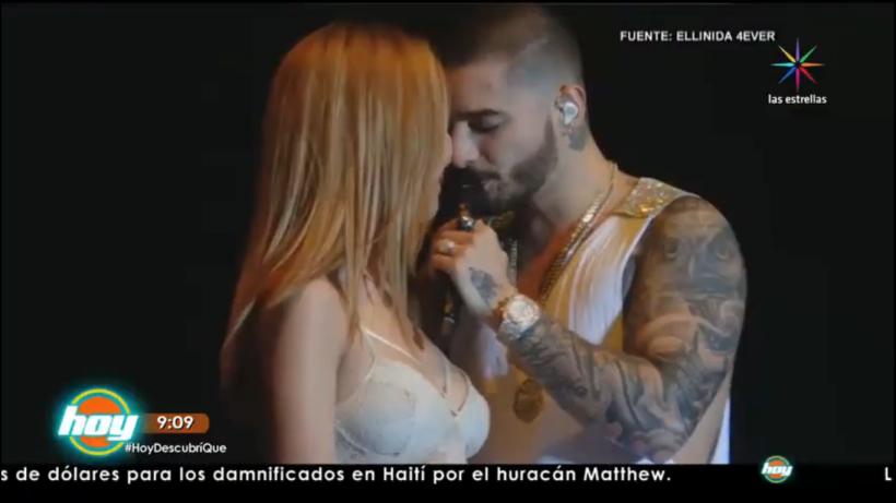 Maluma besó a una fan en la boca ¡Entérate!