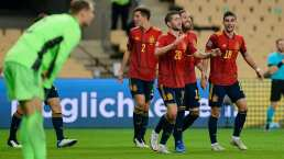 ¡Qué clase de futbol! El gol que define el paseo de España ante Alemania