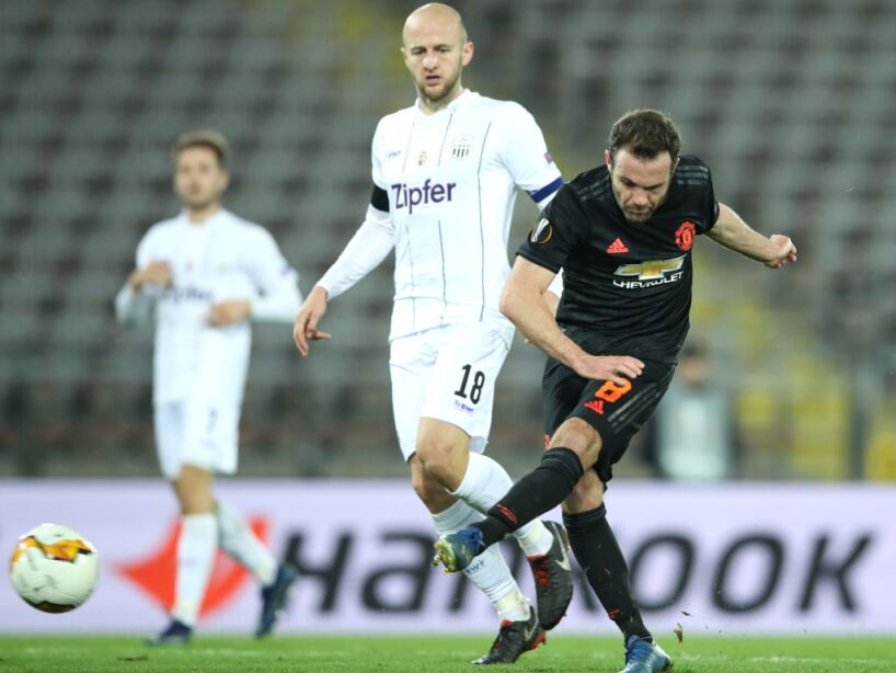 LASK v Manchester United - UEFA Europa League Round of 16: First Leg