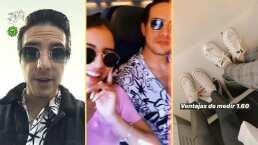 Vadhir Derbez viaja con su novia en plena cuarentena: 'No puedo estar de hotel en hotel'