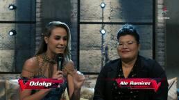 Alejandra recibe una segunda oportunidad en La Voz... México