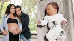 Mariana Echeverría confiesa que al ver la carita de su bebé, Lucca, se le olvida cualquier dolor