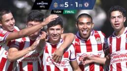 Resumen | ¡A la Final! Chivas golea 5-1 a Cruz Azul en la Sub-20