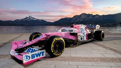 A menos de un mes, Racing Point presenta el monoplaza que manejará el mexicano Checo Pérez en la Formula 1, este 2020. El auto se acaba de presentar en Austria y su color se mantiene rosa.