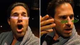 De actor a reguetonero: Sebastián Rulli sorprende 'cantando' tema de Anuel AA y J Balvin