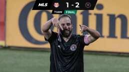 Gonzalo Higuaín marca su primer golazo en la MLS