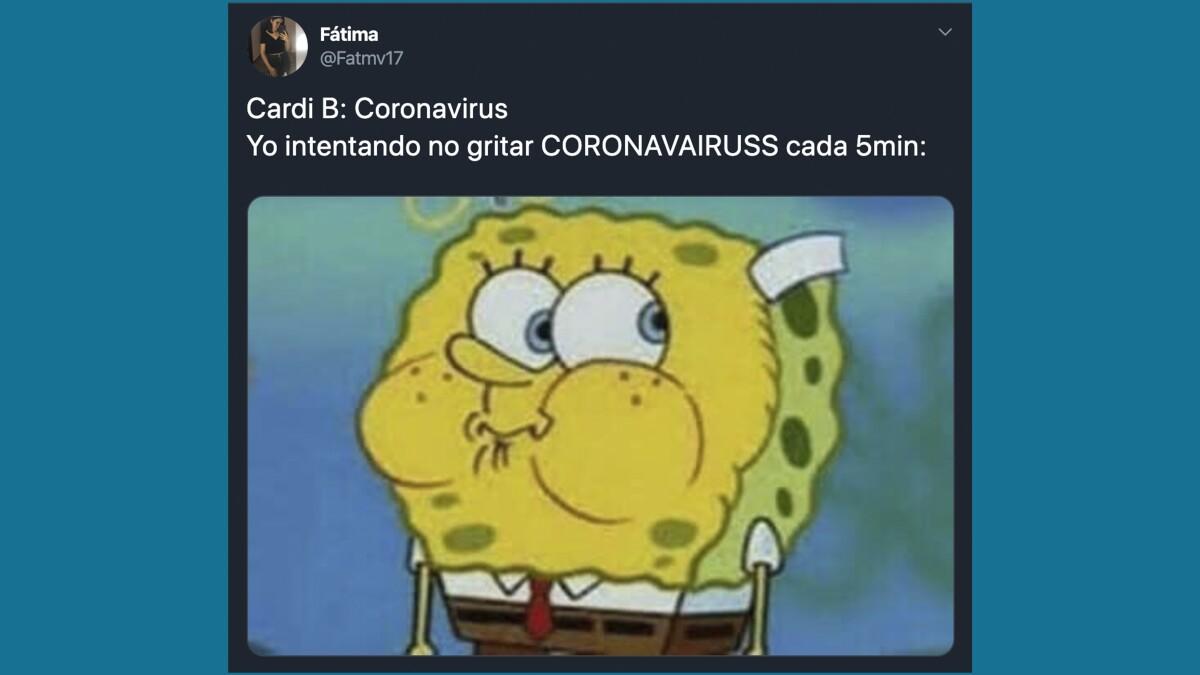 ¿No puedes dejar de decir 'coronavairas' como Cardi B ...