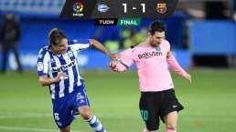 Barcelona suma tres juegos sin ganar, pero Griezmann ya anotó