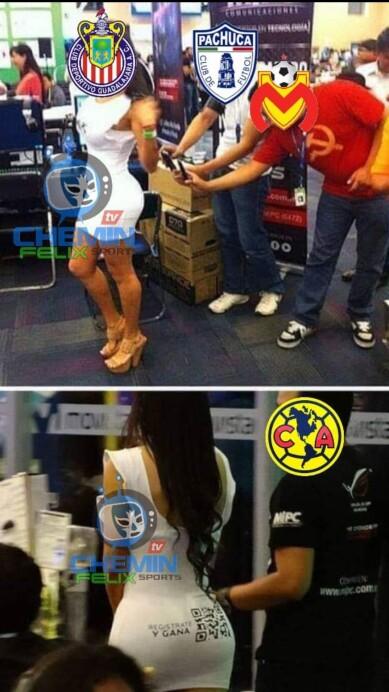 Guadalajara y Tigres, no se salvaron y hacen la chamba en los memes.