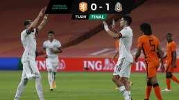 Holanda 0-1 México   El Tri y 'Tecatito' exprimieron la naranja