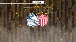 Puebla y Necaxa disputarán la final del Torneo Sub 17