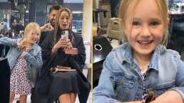 """""""Se burla de mi sufrimiento"""": Geraldine Bazán se corta el cabello y así reaccionó su hija"""