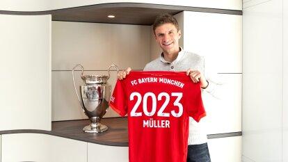 Müller ha firmado un nuevo contrato con el Bayern Munich.