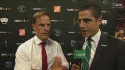"""Frank de Boer: """"Fue un partido de hombres, muy intenso"""""""