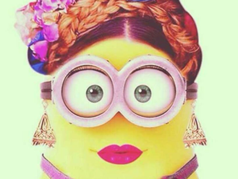 Belinda: El look de la mexicana inspirado en Frida Kahlo se ve muy sexy en su versión Minion.