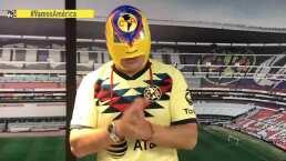 Luchador América, la máscara de las Águilas