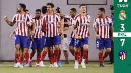 Goleada de escándalo, Atlético de Madrid exhibe al Real Madrid