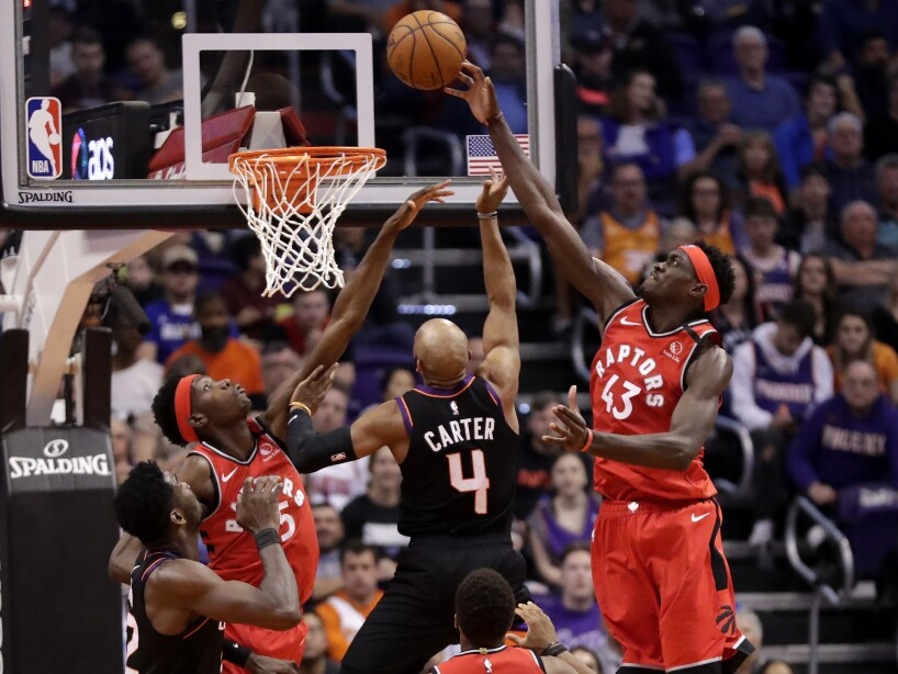Raptors Suns Basketball