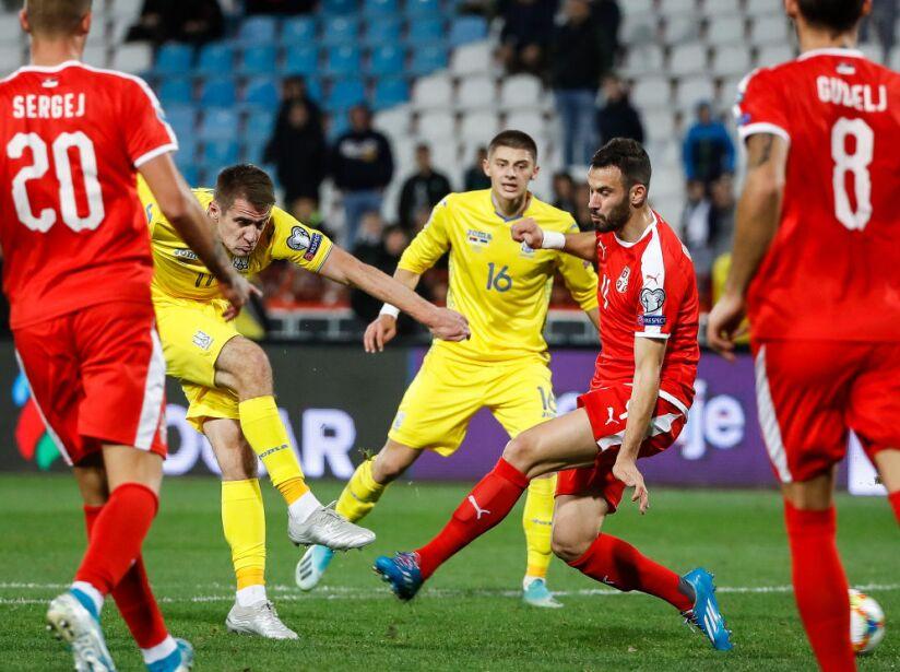 Serbia v Ukraine - UEFA Euro 2020 Qualifier